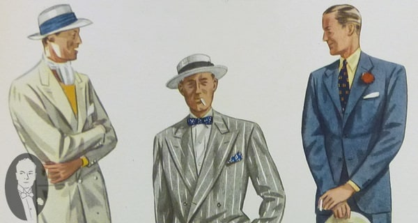 1930's Summer Suits