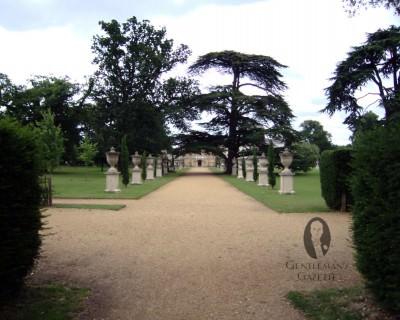 Wide Garden Path