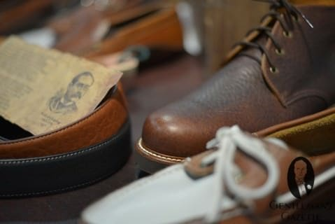 Buffalo Hide Shoes