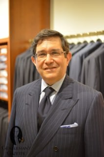 Conservative Business Outfit in Silk