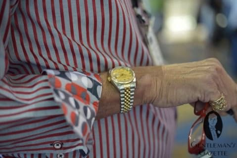 Contrast Cuff, Rolex Watch, Ring & Eyebobs Glasses