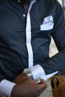 French Deal Shirt with Pocket Square
