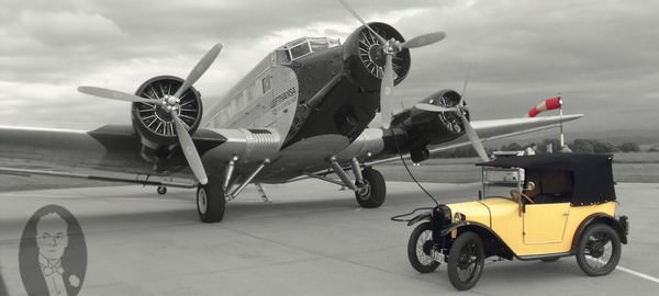 Junkers Ju 52 Lufthansa Airplane