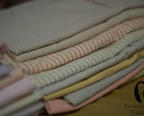 Seersucker in Different Colors & Patterns
