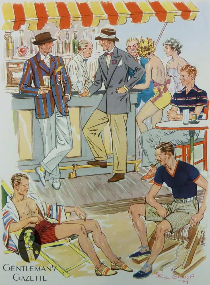 Summer Beach Outfits 1934