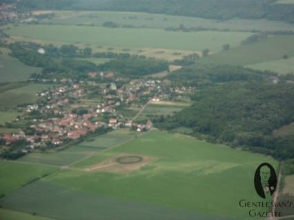 Sightseeing From Above: The Prehistoric Goseck Henge, about 7000 years old