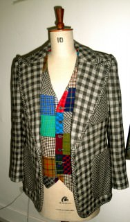 Tommy Nutter Patchwork Plaid Outfit 1975