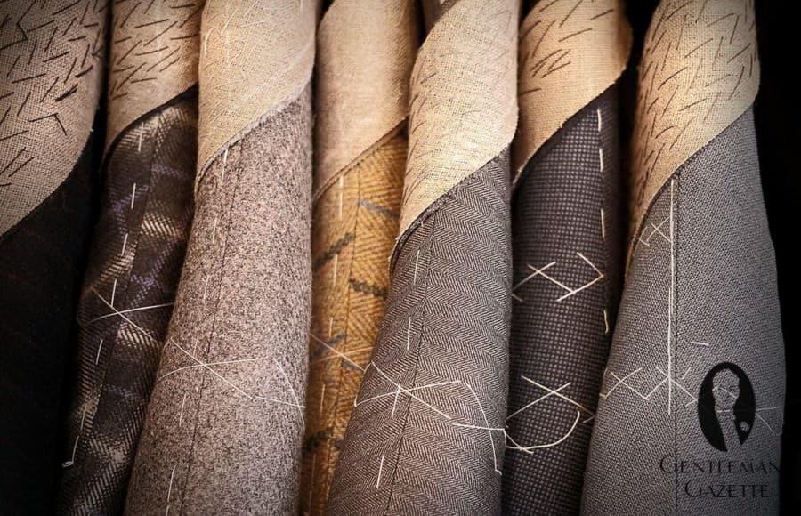 Bespoke Coats in Interesting Fabrics