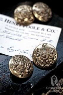 Buttons at Henry Poole & Co