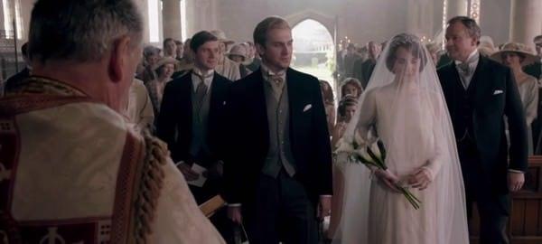 Downton Abbey Wedding Dress & Morning Coats