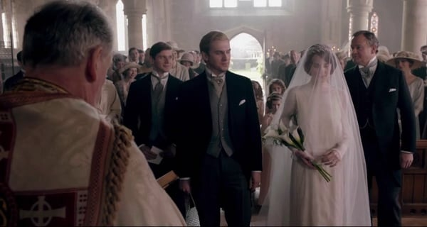 Downton Abbey Wedding Dress & Morning Coats
