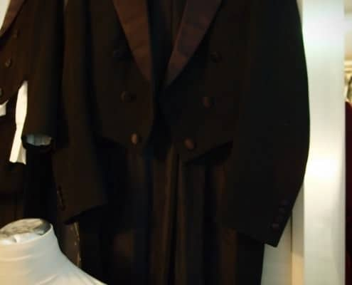 Evening Tailcoat with Cloth Covered Buttons