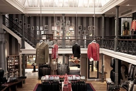 Inside Gieves & Hawkes