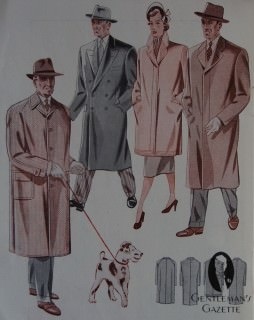 Overcoats Styles in 1951