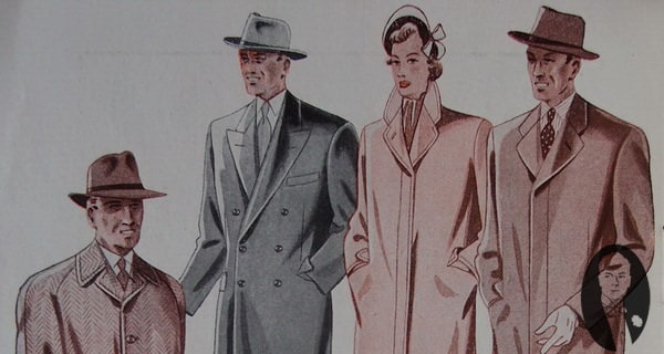 Suit & Overcoat Trends 1950
