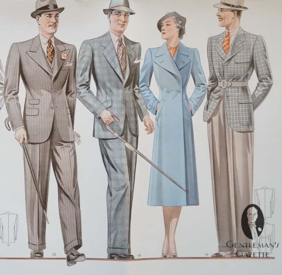 Viennese Suit Styles