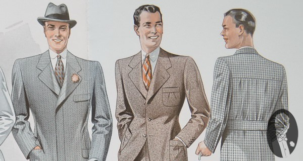 Viennesse Suit Styles in the 1930's