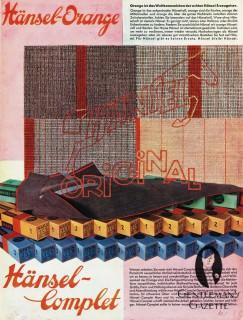 1933 Hänsel-Echo Ad