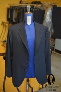 A Rubinacci Coat - It looks like the Sleeve Need Some Work