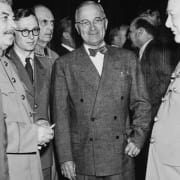 Potsdam Conference 1945 - Stalin, Truman & Churchill