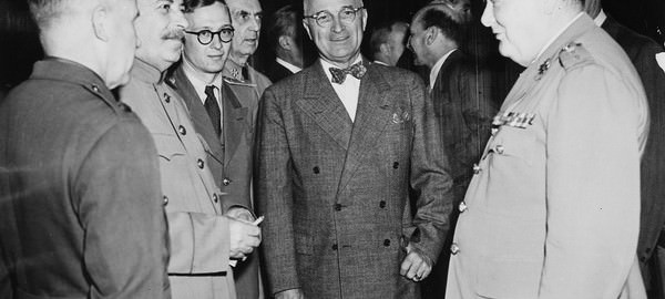Potsdam Conference 1945 - Stalin, Truman & Churchill