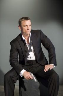 Daniel Craig as 007 in Tuxedo