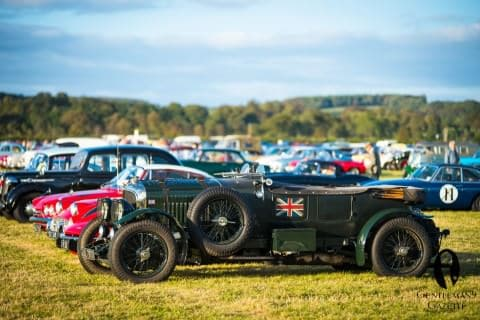 The Goodwood Revival Parking Lot