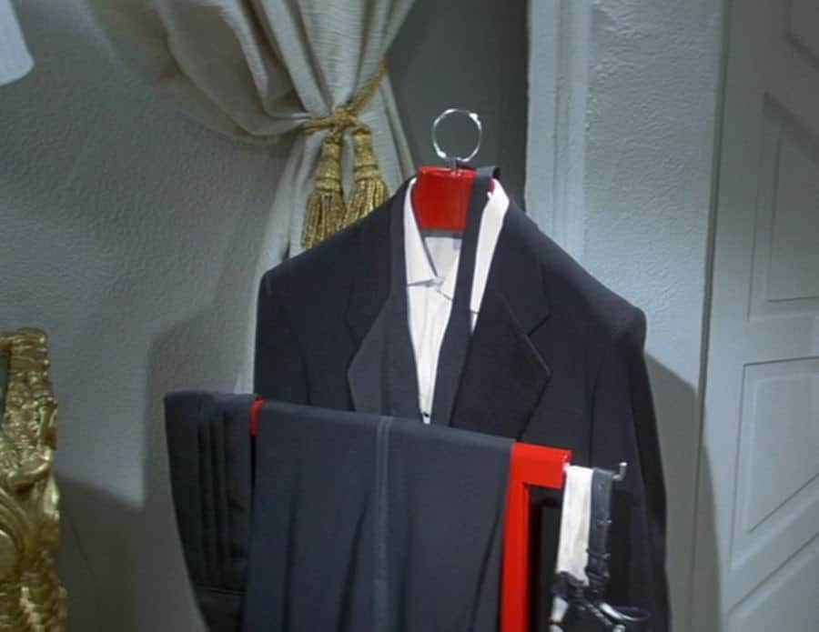 Notched Bond Tuxedo with Single Galon on Evening Trousers