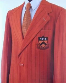 Orange Princeton Blazer 1919