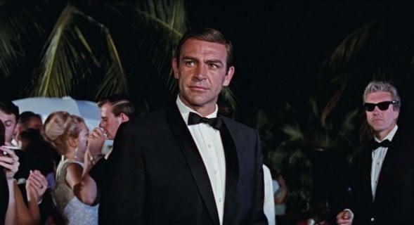 Sean Connery in Slim Shawl Collar in Thunderball