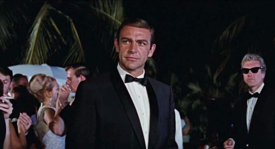 Sean Connery in Slim Shawl Collar in Thunderball