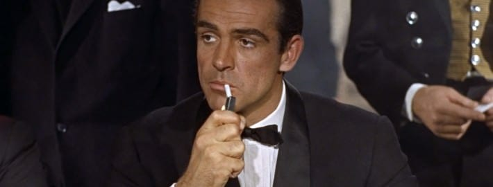 Tuxedo with Shawl Collar - Sean Connery in Dr No