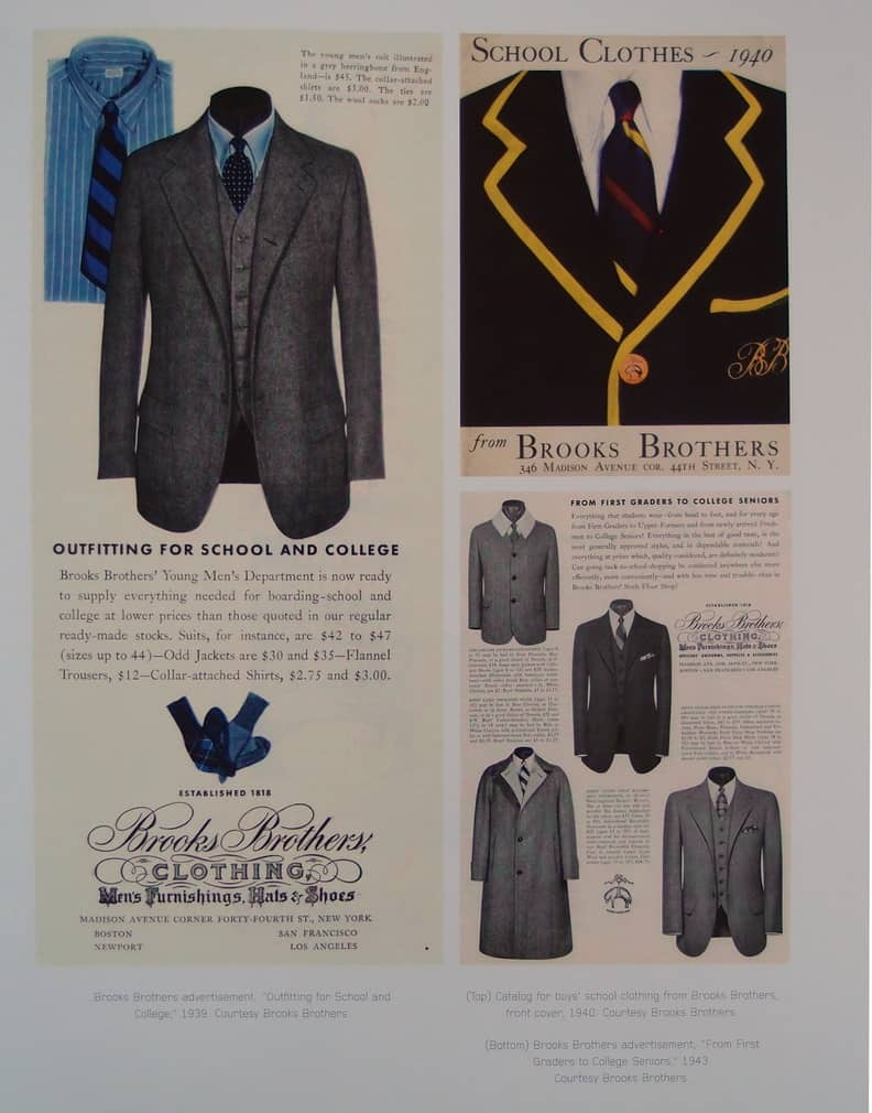 Vintage Brooks Brothers Ad