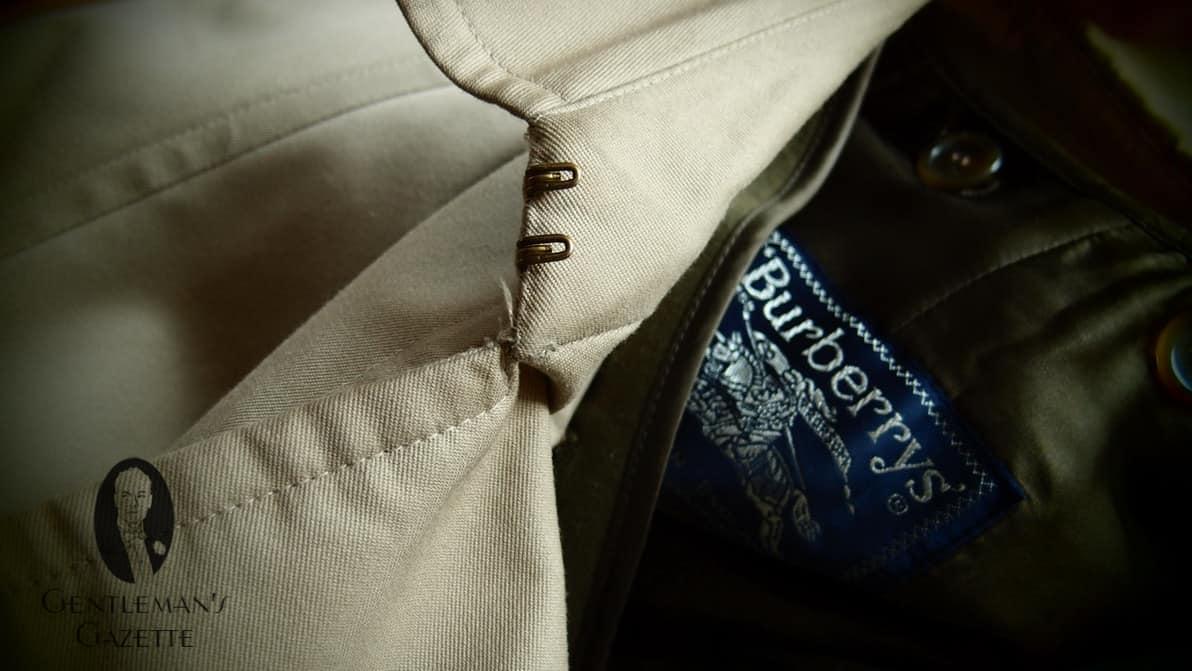 burberry trench coat sale outlet k3cj  6 Gun Patch / Storm Flap