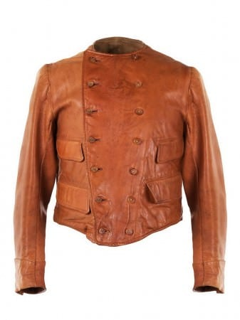 Double Breasted Motorcycle Jacket 1930's