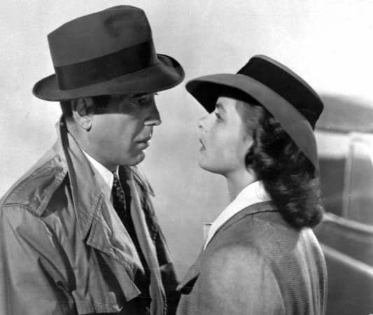 Famous Casablanca Trench Coat Scene