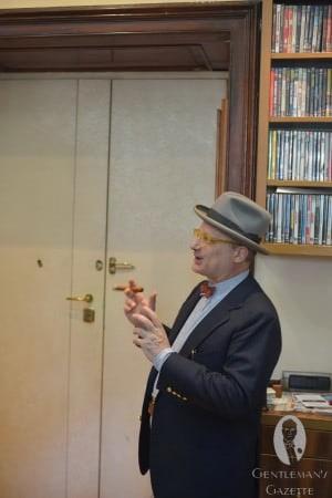 Il Grande Maestro with Cigar & Homburg