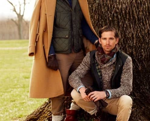 Polo Coat & Quilted Jacket