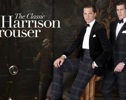 The Harrison Tartan Trousers by Ralph Lauren