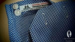 Thomas Mason Fabric and Barrel Cuff
