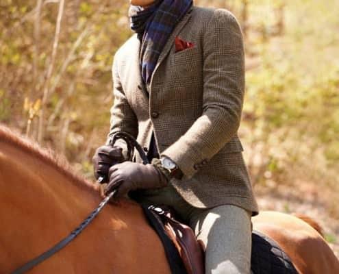 Tightly Fitting Shoulders on Horseback