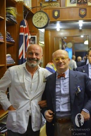 Toni Rossi & Giancarlo Maresca at Halston