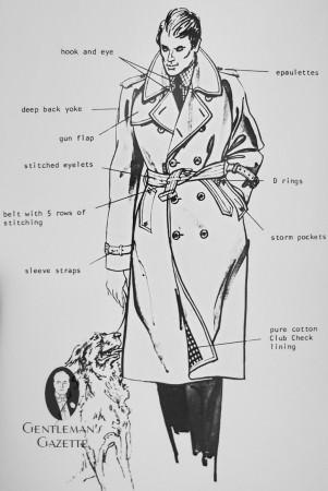 Trench Coat Hallmarks