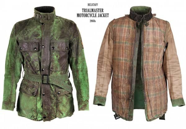 Trialmaster Motocycle Jacket 1960's with Plaid Lining