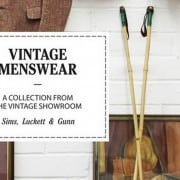 Vintage Menswear Book Review Cover Picture