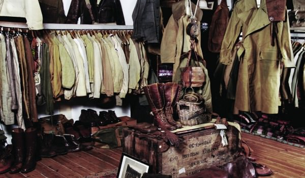 Vintage Showroom in London