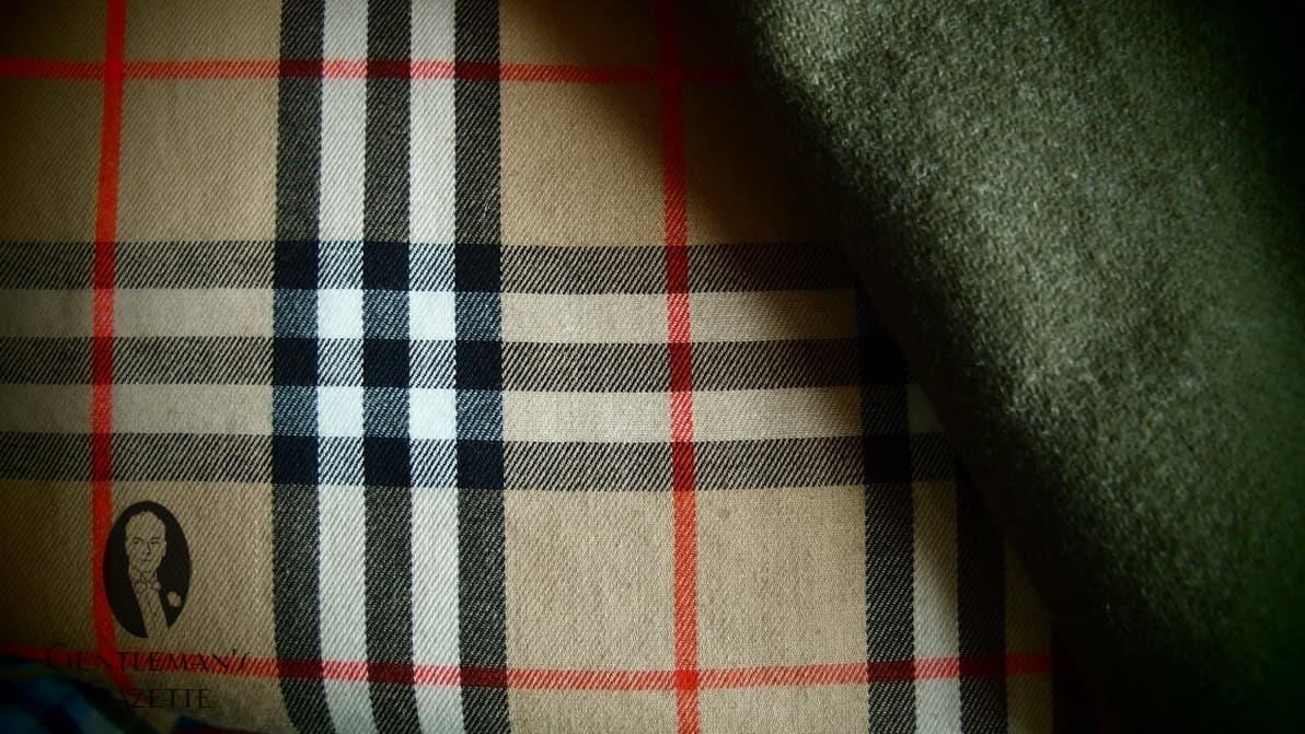 Wool Liner & Burberry Trench Coat Tartan