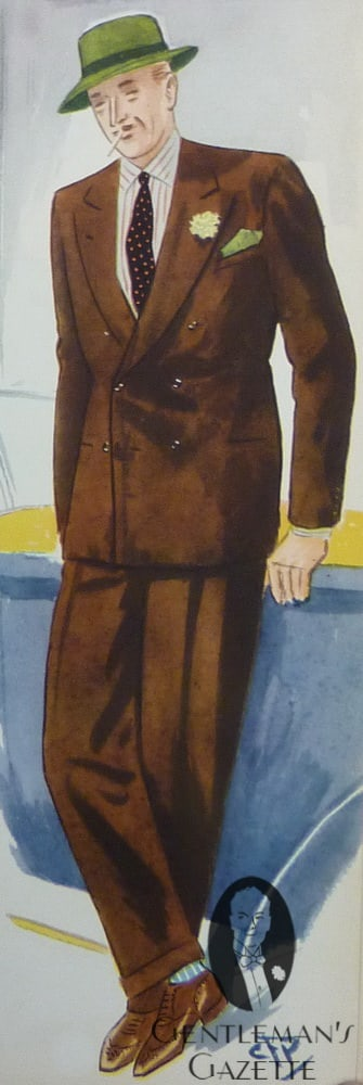 Matching Colors For Men - Blue & Brown — Gentleman's Gazette