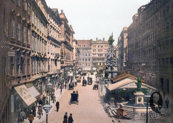 Graben in Vienna around 1900