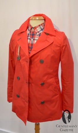 Peacoat in Orange Canvas by Camplin